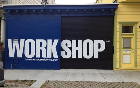 workshop residence storefront signage