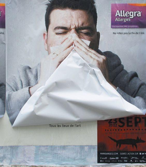 billboard blowing nose allegra