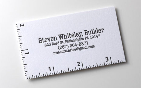 ruler business card functional