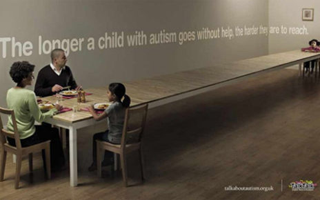autistic child being isolated