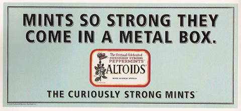headlines archives page of the big ad how powerful are altoids