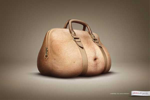 purse bag made to look like a belly gut