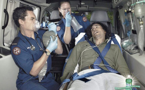 bad breath ambulance respirators