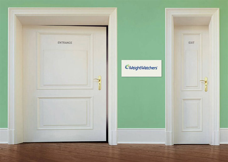 entrance and exit door signs comparison
