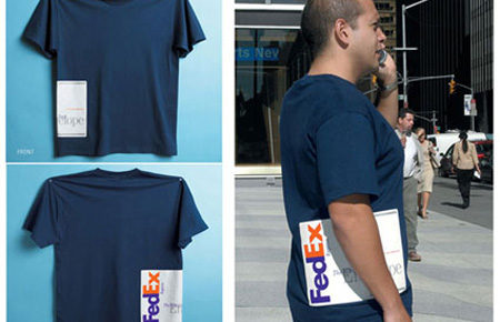 FedEx package shirt design