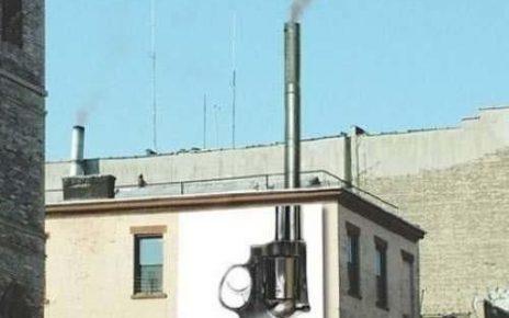 smoking chimney gun air pollution kills
