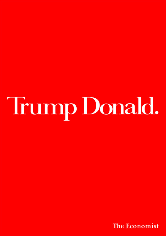 trump donald ad for the economist
