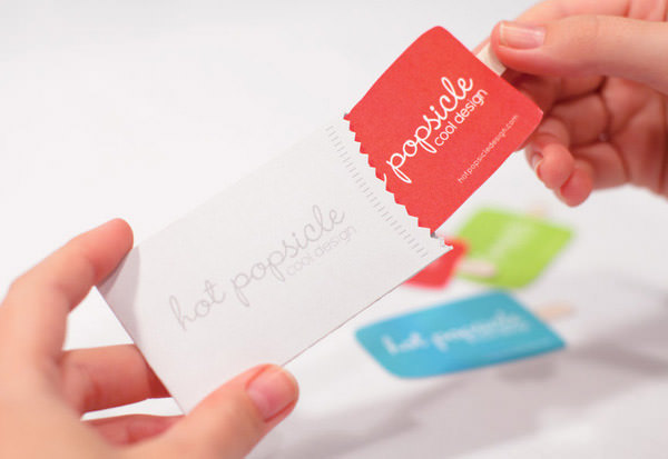 Business cards archives the big ad popsical shaped business card in wrapper holder colourmoves