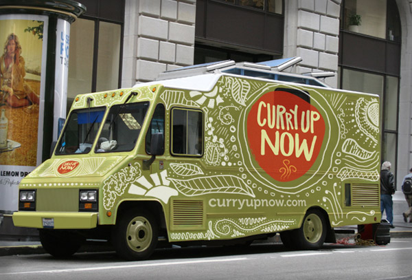 Curry Up Now Food Truck The Big Ad