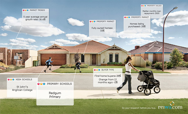 Fact-Filled Real Estate Print Ads - THE BIG AD