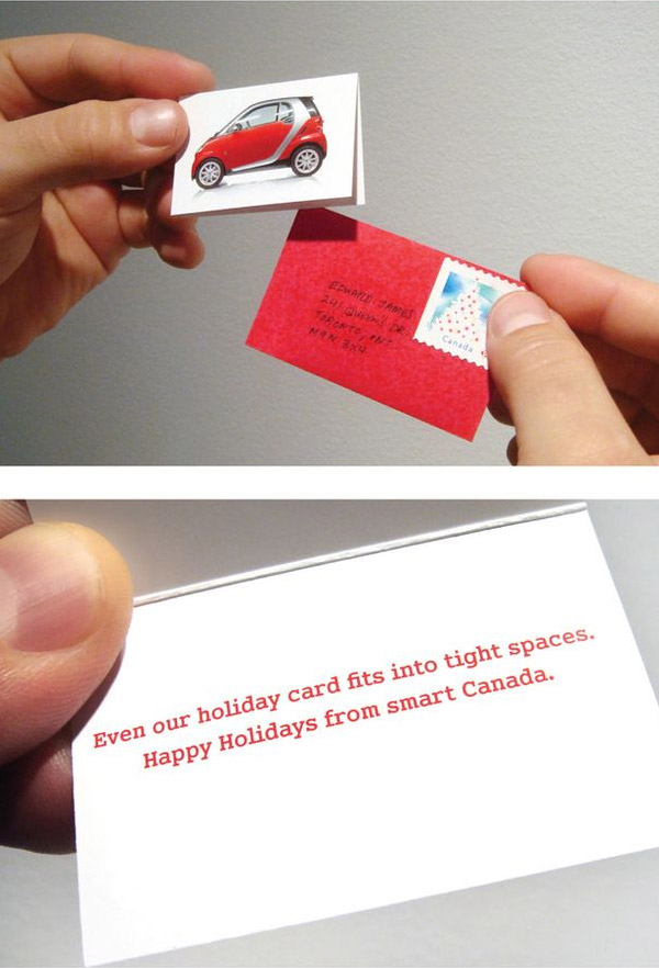 Tiny Christmas Card | Smart Car - THE BIG AD