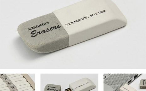 thumb drive flash drive that looks like eraser Alzheimers Disease