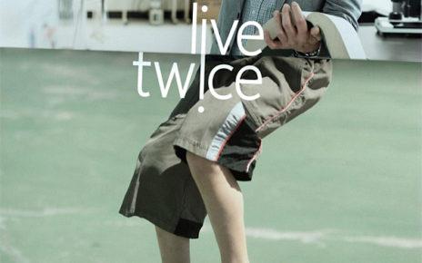 organ donor print ad Live Twice