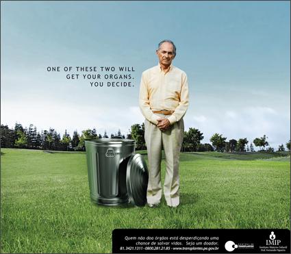 poster encouraging organ donation