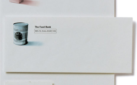 Stationary Letterhead Business Cards | The Food Bank, Omaha