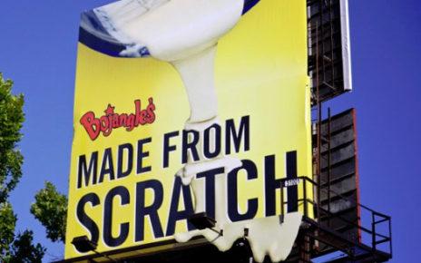 3d effect billboard bojangles