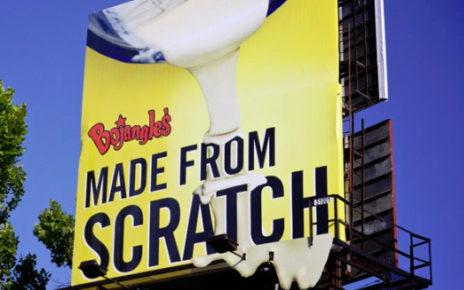 3d effect billboard bojangles