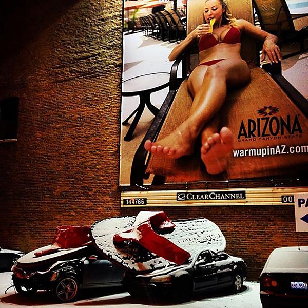 3D billboard arizona tourism