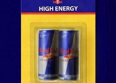 energy drink product packaging looks like battery packaging