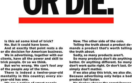 do this or die - truth in advertising - DDB