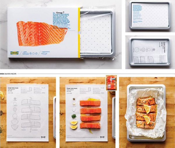 ikea cook-by-numbers pre-measured illustrated cooking sheets