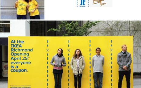 ikea human coupons street marketing campaign