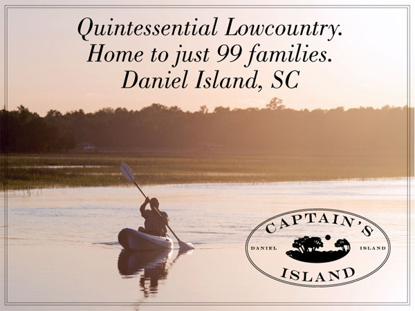 Home to Just 99 Families on South Carolina Island banner ad