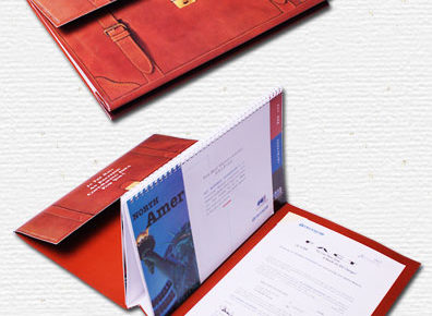 briefcase type direct mailing peice