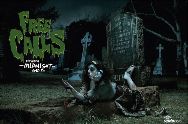 free calls after midnight - vodacom - graveyard