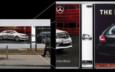 Tiny Billboard Demonstrates Ease of Parking in Small Spaces - Smart Car