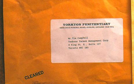 prank testimonial direct mail envelope