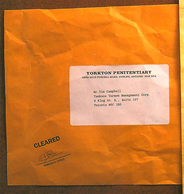 prank testimonial direct mail envelope