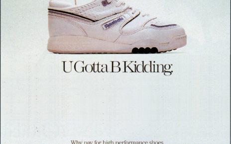 friendly competition - keds mocking rebok advertising