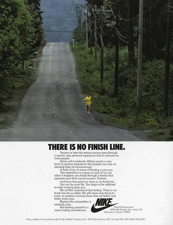 nike no finish line ad