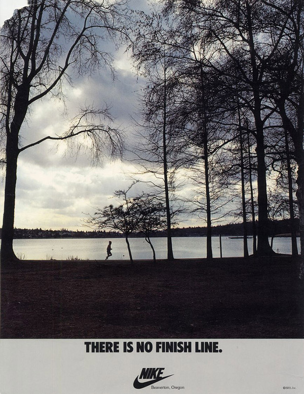 there is no finish line poster - nike