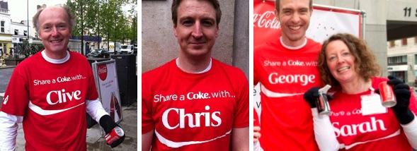 coke employee pr campaign