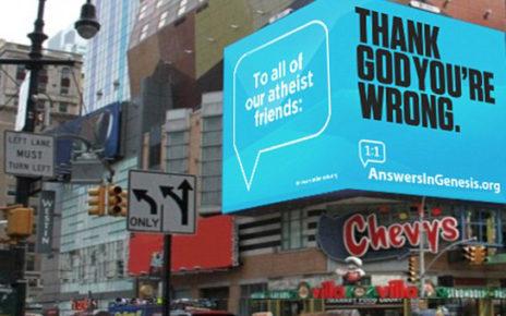 billboard wraps corner of building