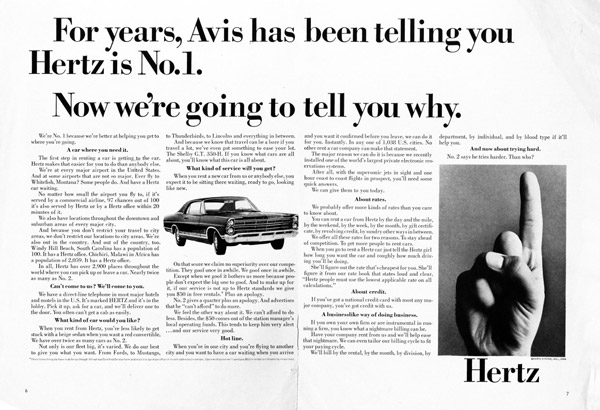 hertz rebuttal to avis attack ads