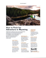example of native advertising in print - wyoming tourism