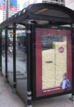 visually demonstrate product benefit outdoor advertising