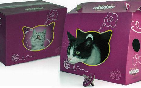multi purpose packaging | whiskas cat playhouse box