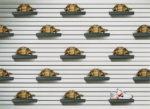 nike vs turtles wall display print advert