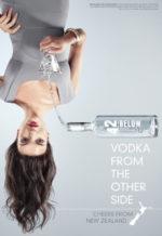 upside down woman communicates USP of product