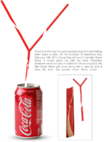 coca cola sharing straw promotion