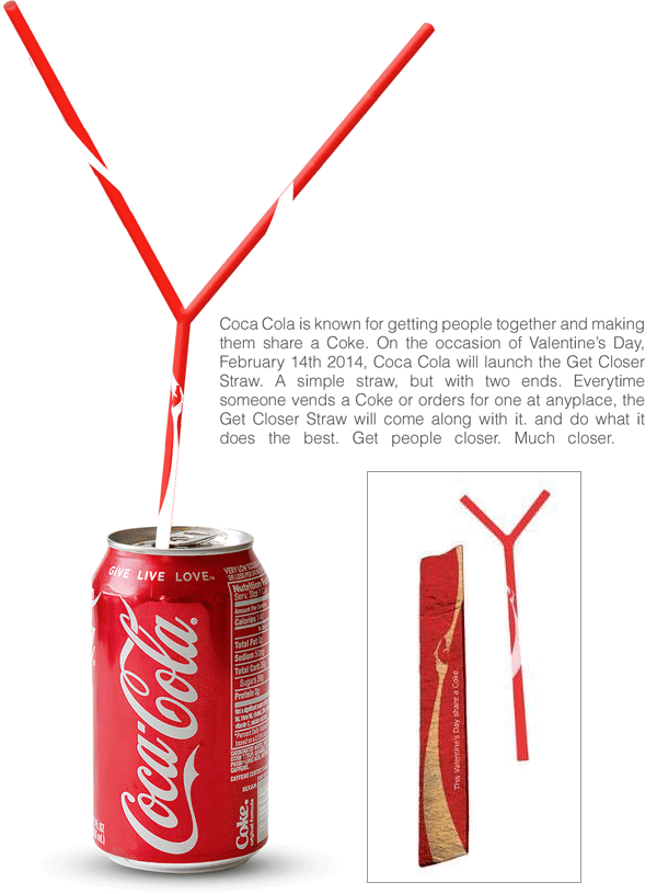 coca cola sharing straw promotion