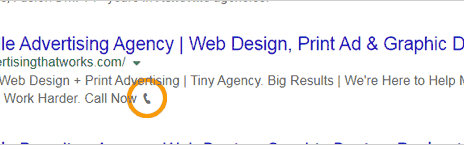 emoji in search results listing page