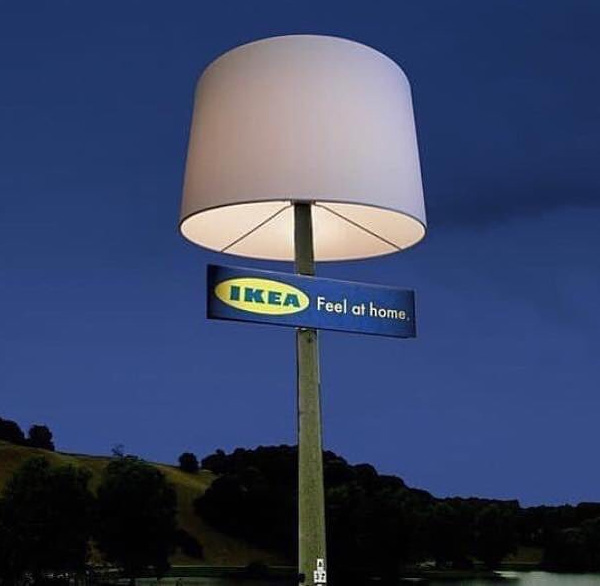 outdoor light pole lamp shade - ikea