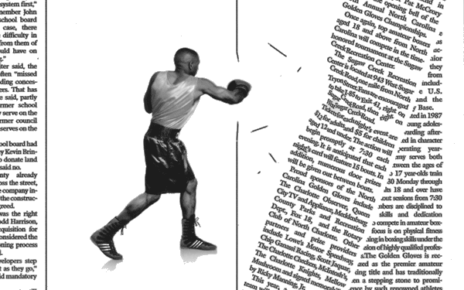 print action ad demonstrating message boxing