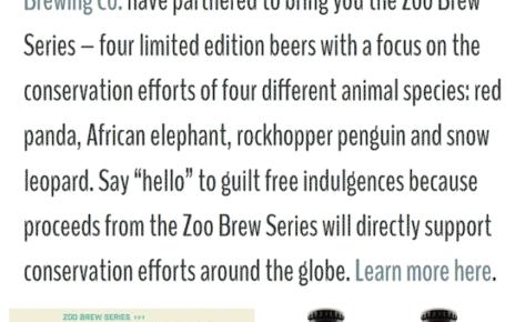 zipline brewery cobranding with omaha zoo