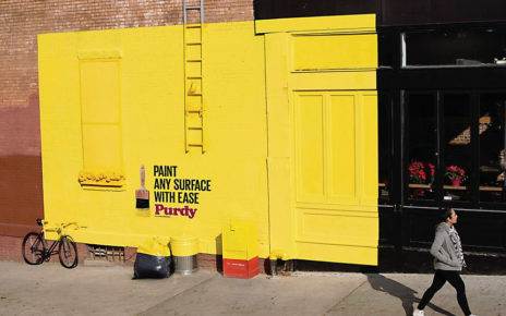 bright bold building mural art for paint supplies